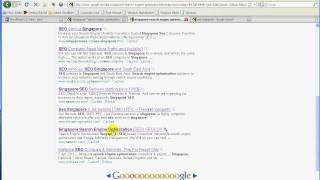 SEO SINGAPORE  a Step By Step Live Search Engine Optimization for seocox.com  pt003