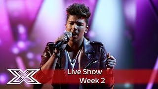 Matt Terry takes on Marvin for Motown Week!   Live Shows Week 2   The X Factor UK 2016