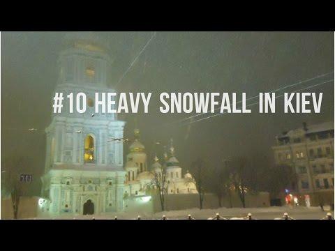 #10 Heavy snowfall in Kiev