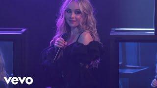 Sabrina Carpenter, Jonas Blue - Alien (Jimmy Kimmel Live!/2018)