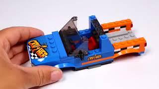 UNBOXING LEGO 60180 Xe tải xây dựng quái vật thành phố [ĐỒ CHƠI LẮP RÁP]
