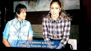 Entrevista Jennifer Lopez e Roberto Carlos Especial de Natal 2016