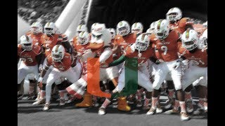 "THE U IS BACK? Miami Hurricanes 2017 Highlights II ""Narcs"" II"
