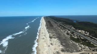 Drone video - Outer Banks, North Carolina, USA