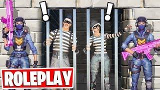 PRISON ESCAPE ROLEPLAY in Fortnite! (NEW Fortnite Creative Gamemode)