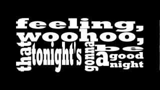 I gotta feeling - Double Faced Eels cover [OFFICIAL LYRIC VIDEO]