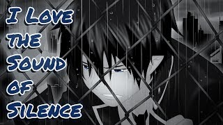 ★ Nightcore // Sound of Silence ✖ Love the Way You Lie ★