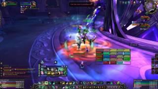 Nighthold Mythic Chronomatic Anomaly Kill - Healer Mistweaver Monk POV