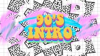 TUMBLR 90'S RETRO INTRO TEMPALTE (NO TEXT)