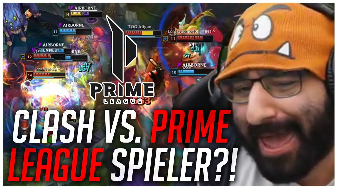 PlayersHUB - CLASH GEGEN PRIME LEAGUE SPIELER?! | Stream-Highlight [edit. Gameplay]