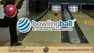 bowlingball.com Storm Code Red Bowling Ball Reaction Video Review