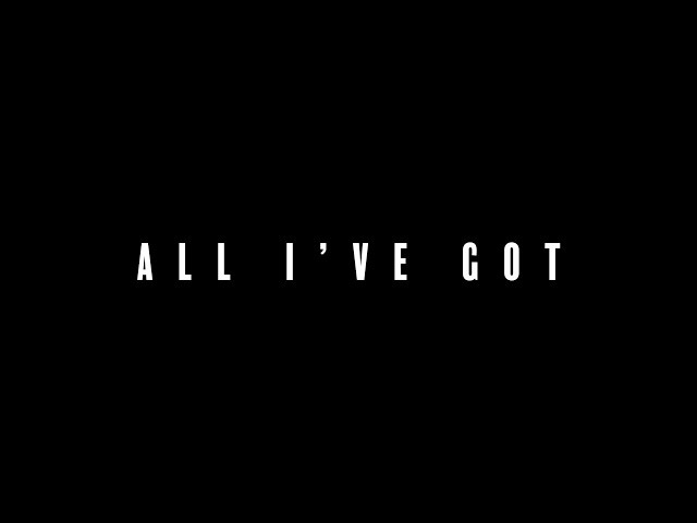 Video oficial de All I've got de Alex Francis