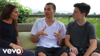 Kalin And Myles - Trampoline (Behind The Scenes)