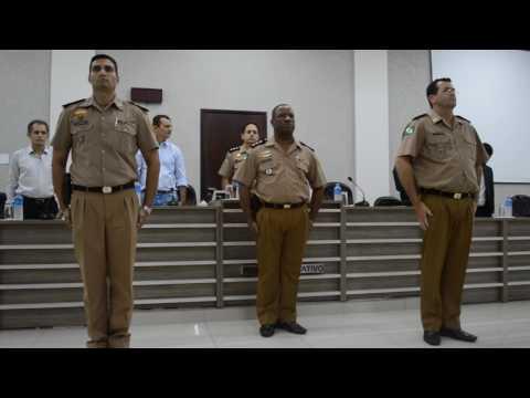 Cerimônia de troca de Comando da Polícia Militar de Goioerê - Cidade Portal