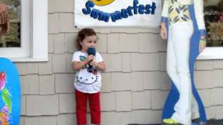 2 yr old sings Twinkle Twinkle Little Star
