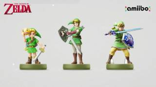 Three New Legend of Zelda Amiibo Announced