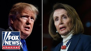 Trump: Pelosi is playing games with border security