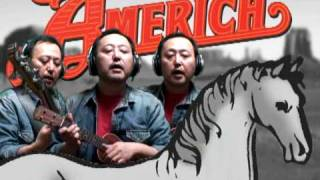America - A Horse With No Name / Ukulele cover by Tsutomu Yoshikawa