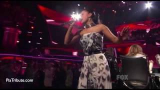 "Pia Toscano, ""River Deep, Mountain High"" American Idol, 4-6-2011"