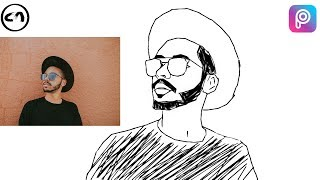Pic Drawing in Picsart [Speed Art] || Vector Art