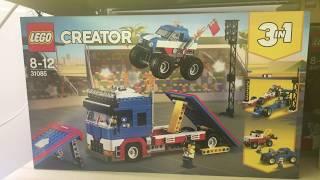 LEGO 31085 - LEGO Creator - 3 in 1 Stunt-Truck-Transporter (31085)