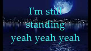 Elton John - I'm still standing (with lyrics) width=