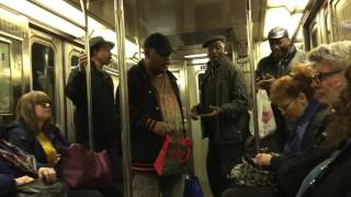 """NYC Subway Doo-Wop """"The Lion Sleeps Tonight"""""""