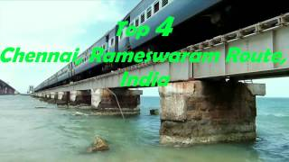 Top 5 Most dangerous and extreme railway bridge in the world.