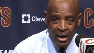 'We are very capable of persevering' says Larry Drew after Cavs beat Sun