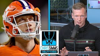 Phil Simms' scouting report on Joe Burrow, Trevor Lawrence | Chris Simms Unbuttoned | NBC Sports
