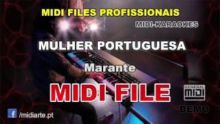 ♬ Midi file  - MULHER PORTUGUESA - Marante