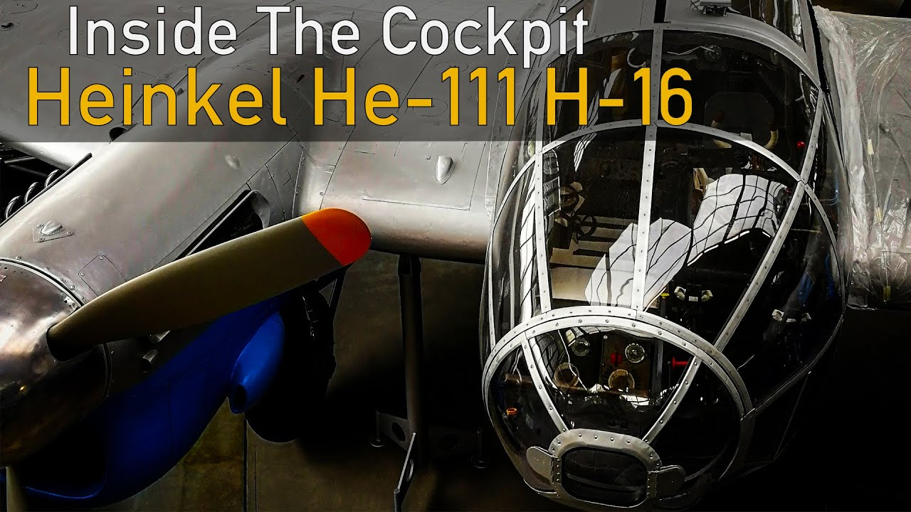 Inside The Cockpit - Heinkel He-111