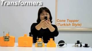 Solar Barricade Light transformers series ACCESSORIES