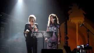 Cristina Zeta e Nunzia Carrozza (05/09/15 tour 'CantoStefano')