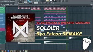 Blasterjaxx & Breathe Carolina - Soldier (Original Mix) (FL Studio Remake + FLP)
