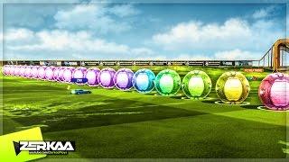 20 BALL DODGEBALL IN ROCKET LEAGUE! (Rocket League Mods)