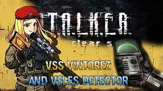 STALKER Clear Sky PC How to find the VSS Vintorez Sniper and Veles Detector in the Swamps