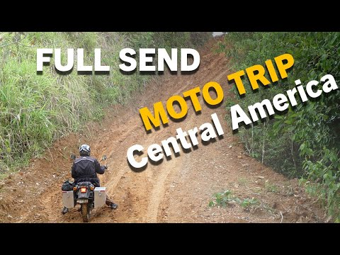 Central America motorcycle trip