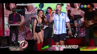 """Miss Bolivia y Lio García cantan """"Tomate el Palo"""" - Peligro Sin Codificar"""