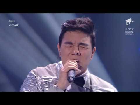 """Leonard Cohen - """"Hallelujah"""". Raul Eregep si Delia din marea finală X Factor"""