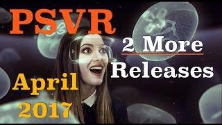 PSVR | More Releases for April 2017