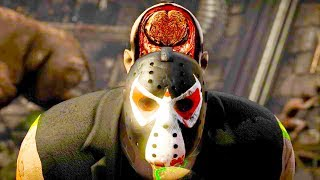 Mortal Kombat XL - All Fatalities & X-Rays on Bane Jason Costume Mod 4K Ultra HD Gameplay Mods width=