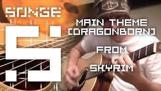 Skyrim - Dragonborn (Main Theme) cover 【Songe】