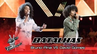 Bruno Pina VS David Gomes – Can't feel my face | Batalhas | The Voice Portugal