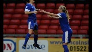 Lincoln vs Everton 0-2, FAWSL Goals & Highlights