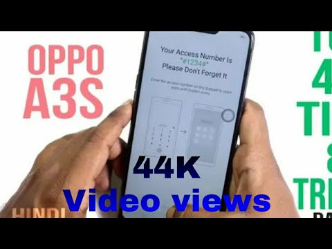 Download thumbnail for oppo A3s Face How To face Lock