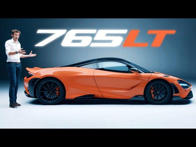 NEW McLaren 765LT: In-Depth First Look, AMAZING ENGINE SOUND!   Carfection 4K