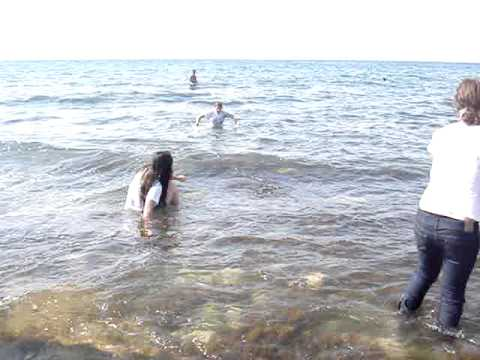 Swimming in Black Sea part 1