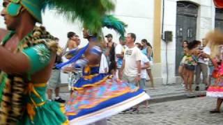 Maracatu Nacao Pernambuco em Recife - desfile