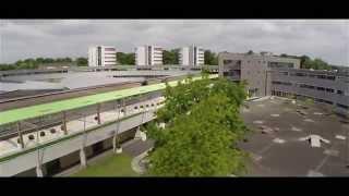 Le lycée Durzy vu du ciel